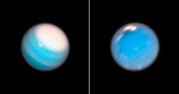 Hubble Reveals Dynamic Atmospheres of Uranus and Neptune
