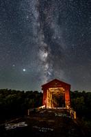 Milky Way over Williams Bridge
