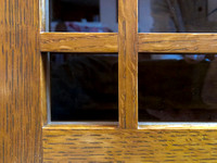 White Oak Cabinet Detail